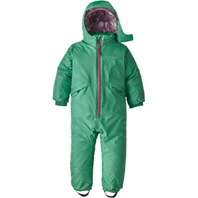 Patagonia Snow Pile One-Piece Baby Kinderen, plains green